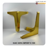 Kaki Sofa K100 Stainless New Model